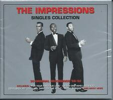 The Impressions - Singles Collection - Greatest Hits - Best Of 2CD NEW/SEALED