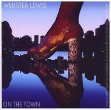WEBSTER LEWIS On The Town NEW & SEALED SOUL JAZZ CD (EXPANSION) 70s 80s DISCO