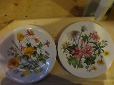 Avon Wild Flowers of the United States (Northern and Western)Collector Plates