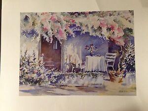 The Patio By Hazel Soan