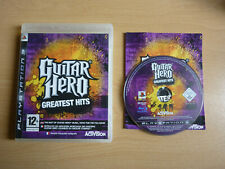 Guitar Hero : Greatest hits / Jeu PS3 / Complet