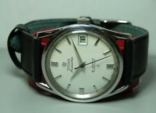 Vintage Titoni Airmaster Date Automatic Swiss Mens Watch b264 Used Antique