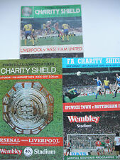 More details for charity shield progs x3 1978,9,80  forest,ipswich, liverpool, west ham arsenal