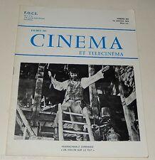 FICHES du CINEMA et TELECINEMA - Numéro 453 1972 - Le SURVIVANT - Joe COCKER ...