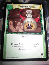HARRY POTTER DIAGON ALLEY CARD GAME DOGBANE POTION 56/ 80 COM ENGLISH MINT NEUF