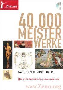 40.000 Meisterwerke Malerei Zeichnung Grafik Kunstsammlung  DVD Zeno Band 50