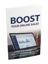 Boost Your Online Sales eBook Pdf With Master Resell Rights