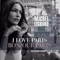 MICHEL LEGRAND - I LOVE PARIS/BONJOUR PARIS  2 VINYL LP NEW!