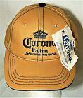 Vintage 2008 Corona Extra Beer Crown Caramel Color Baseball Cap Hat New Tag OSFM