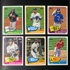 2021 Topps Series 2 Redux 1965 Retro Insert You Pick, Complete your set