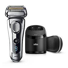 Braun Series 9 9296cc elektrischer Rasierer Clean & Charge - Wet & Dry *NEUWARE*