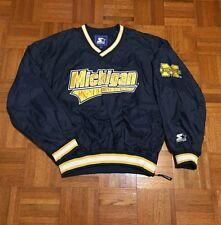 Vintage University of Michigan Wolverines NCAA Adult Large Starter Jersey