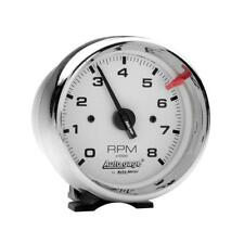 """Auto Meter Tachometer Gauge 2304; Auto Gage 0 to 8000 RPM 3-3/4"""" Electrical"""