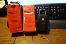 Two (2) / Set of 2 NU-SET Model 2020 High Security 4 Number Combo Lock Boxes