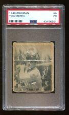 Yogi Berra 1948 Bowman #6 Rookie RC Yankees PSA PR 1