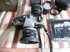 APPAREIL-PHOTO OLYMPUS  OM10 et accessoires