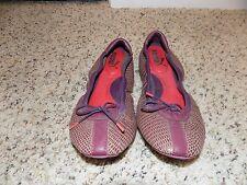 Puma Kitara Purple Snake Ballet Flats in Size 6.5-EUC RARE