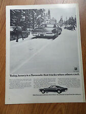 1969 Oldsmobile Olds Toronado Ad