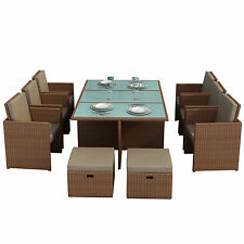 Rattan More than 8 Up to 10 Garden & Patio Furniture Sets