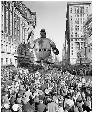 1942 Baseball Player Balloon Macy's Thanksgiving  Parade 8 x 10 Photograph