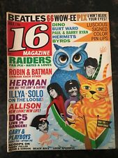 16 Magazine - July, 1966 Back Issue
