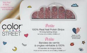 CS Nail Color Strips Glitterally Can't Petite 100% Nail Polish - USA Made!