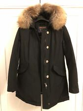 Woolrich Ladies Womens Black Arctic Parka Medium *Excellent condition* RRP £695