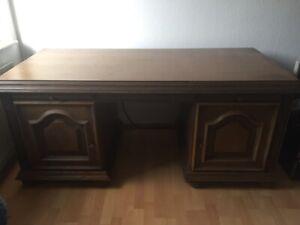 Schreibtisch braun antik