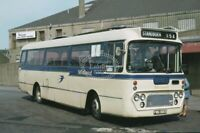 PHOTO Midland Scottish Albion Viking MNV14 FWG980D in 1985 on route 85A