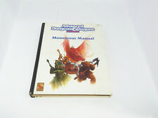 Advanced Dungeons & Dragons Monstrous Manual 2nd edition