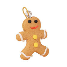 Cute Mini Gingerbread Cookie Crafting Christmas Tree Ornaments Miniature Set Dt