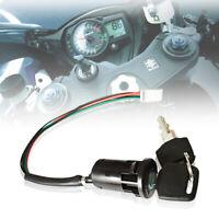 Ignition Switch For Quad , Pit Bike, Lock 2 Keys 4 Wire For Honda Suzuki