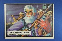 """1962 Topps Civil War News - #1 """"The Angry Man"""" - Good Condition"""