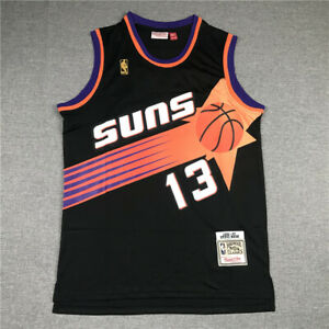 13# Steve Nash Phoenix Suns 1996-97 Classics Men's Swingman Jersey Black
