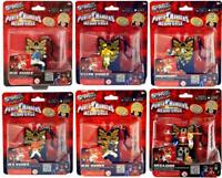 SWAPPZ - POWER RANGERS MEGA FORCE – FIGURE WITH BACKPACK CLIP & 3 POWER UP COIN