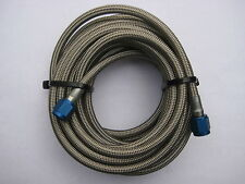NOS/NITROUS/NX/ZEX/HOLLEY/CAMARO/MUSTANG/NOVA/ 14FT 4AN BRAIDED S/STEEL LINE*NEW