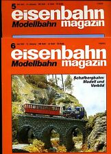 Eisenbahn Magazin Modellbahn --1993--Ausgabe 5+ 6 -- 2 Stück -