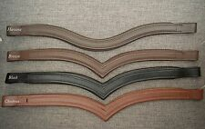 Oversize / Full / Cob Empty Channel Padded Browbands for Bridle, 8mm, All colors