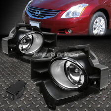 FOR 10-12 NISSAN ALTIMA 4DR CLEAR LENS BUMPER DRIVING FOG LIGHT LAMPS W/SWITCH