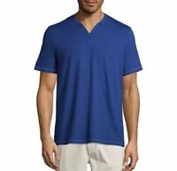Boston Traders Men's V Neck Short Sleeve Shirt SIZE & COLOR VARIETY