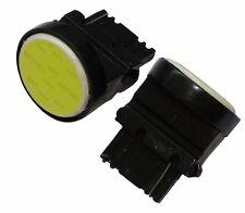 2x ampoule T25 P27W W2.4x16d 3156 12V 12LED SMD COB blanc effet xénon