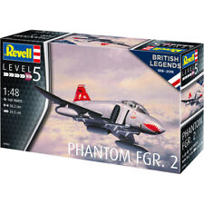 Revell British Legends: Phantom FGR.2 Plane Model Kit (Level 5) (Scale 1:48)
