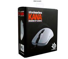 NEW SteelSeries Sensei KANA Optical Gaming Mouse USB (White) PC/MAC 62029