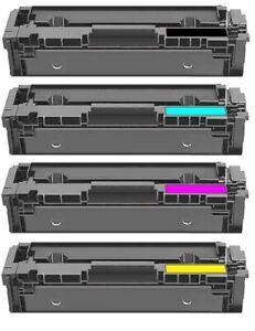 4er Toner Set Alternaviv zu Canon 054 H I-Sensys MF640 MF643 CDW MF645 MF645 CX
