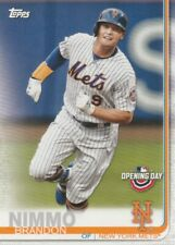 2019 TOPPS OPENING DAY BRANDON NIMMO #161 NEW YORK METS FREE SHIPPING