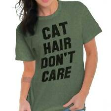Cat Hair Dont Care Funny Kitten Owner Cute Pel Lover Gift Classic T Shirt Tee