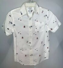 """BOY SHIRT size Youth M,/""""HURLEY/"""" # 75 NEW NWT Short sleeve collar 60/% OFF"""