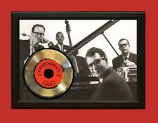 Dave Brubeck Poster Art Wood Framed 45 Gold Record Display C3