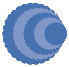 Nesting Scallop Circles Kaisercraft Die Set for Cardmaking,Scrapbooking, etc