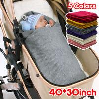 Crystal Baby Spanish Blanket Convertible Soft Wrap Zip Beige Green 80 x 90cm
